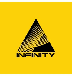 Logo design template Infinite shape vector image