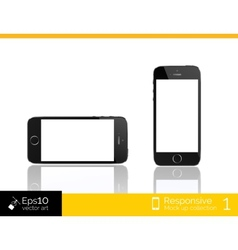 Modern smart phone isolation vector image vector image