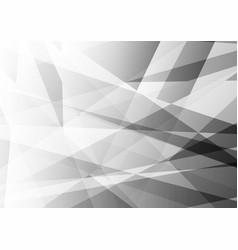 Abstract geometric white and gray color modern vector