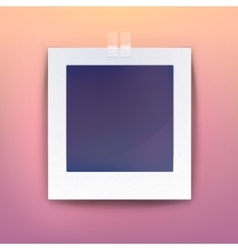 Background for blank picture or photo frame vector image
