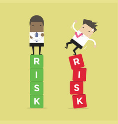 Business risk management of difference vector