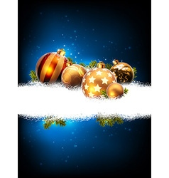 Christmas background decorative vector