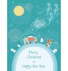 Christmas of Santa vector