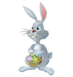 Easter bunny rabbit vector