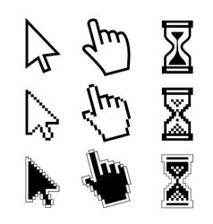 Icon cursor mouse vector