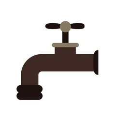 Isolated eco tap design vector