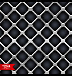 metal texture design background vector image
