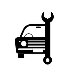 Old vintage junk car vehicle automobile repair vector