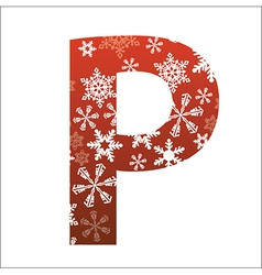 P Letter vector image
