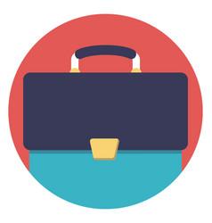 Portfolio bag vector