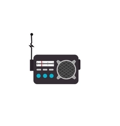 Radio retro station vector