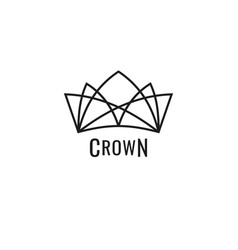royal crowns deluxe vector image