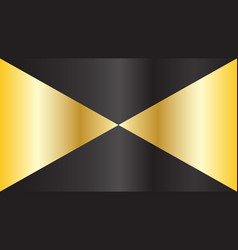 golden and black gradient geometric pattern vector image