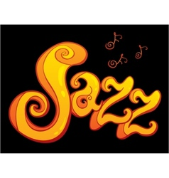 symbol of Jazz vector image vector image