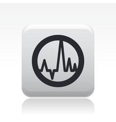 wave audio vector image
