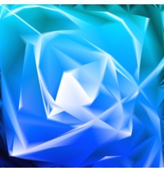 Blue background in the form of flower vector image