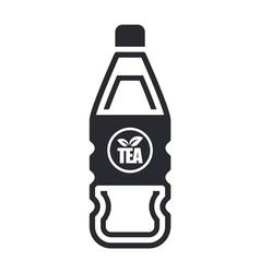 tea bottle vector image vector image