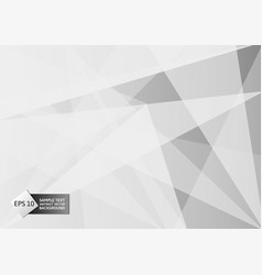 white and gray color polygon and line abstract vector image