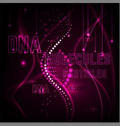 molecule background image vector image