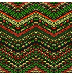 african style pattern with tribal motifs vector image