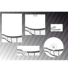 business film company vector image