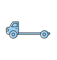 cartoon tow truck repair transport assistance vector image