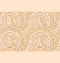 elegant arc curve geometric seamless pattern vector image