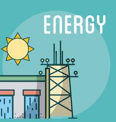 Energy power concept vector