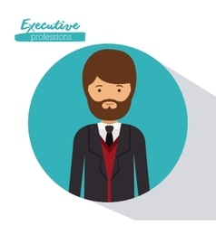 Executive person design vector