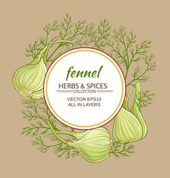 Fennel frame vector