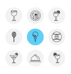 Food health nutrious healthy eps icons set vector