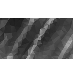gray abstract background consisting of low vector image
