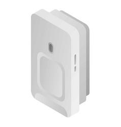 Motion sensor icon isometric style vector
