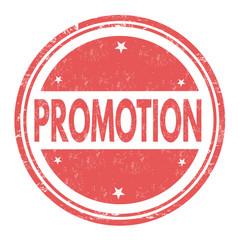 promotion grunge rubber stamp vector image