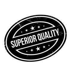 Superior quality rubber stamp vector