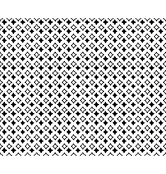 the pattern small black rhombuses vector image