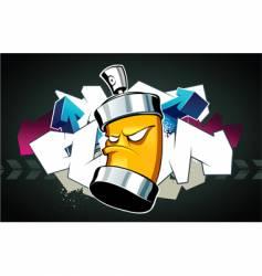 graffiti vector image vector image