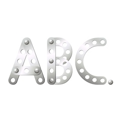 ABC vector image vector image