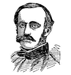 admiral john dahlgren vintage vector image
