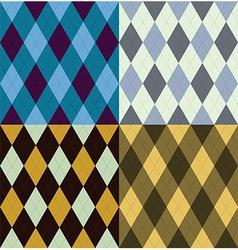 Argyle seamless pattern vector
