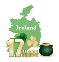 Design element for feast of saint patrick day vector