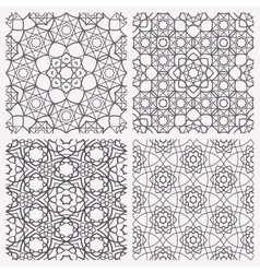 Islamic Seamless Patterns vector