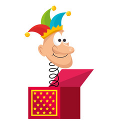 jack box toy vector image