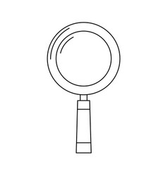 lupe icon image vector image