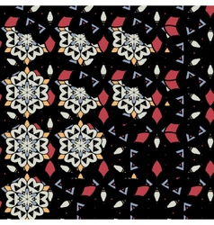 Mandalas wallpaper Seamless oriental design vector image
