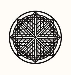 Sacred geometry 0142 vector