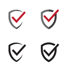 shield quality vector image