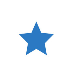 star related glyph icon vector image