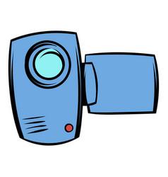 camcorder icon cartoon vector image
