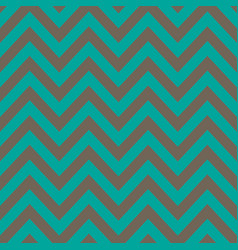 blue and silver chevron retro decorative pattern vector image
